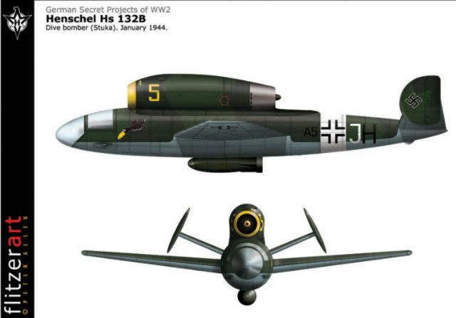 Image Gallery henschel hs 132 Henschel Hs 132