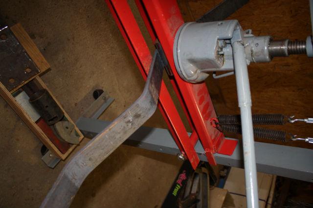 Fabrication d 39 un cultivateur pour 333 duf for Fabrication presse hydraulique maison