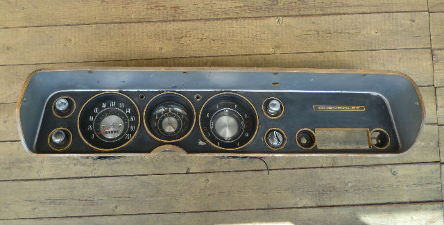 Tableau de bord Chevelle 64. 25fbql