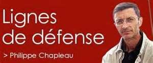 Lignes de défense - Philippe Chapleau 11uw53