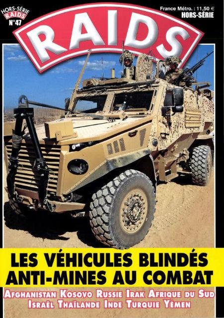 Raids: Les véhicules blindés anti-mines au combat 196wh4