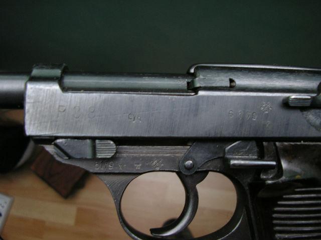 P38 byf 43 réutilisé par la BundesHeer autrichienne (neutra) 18qzqa