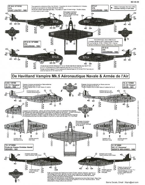 De Havilland Vampire MK5 1/48 Aathx0