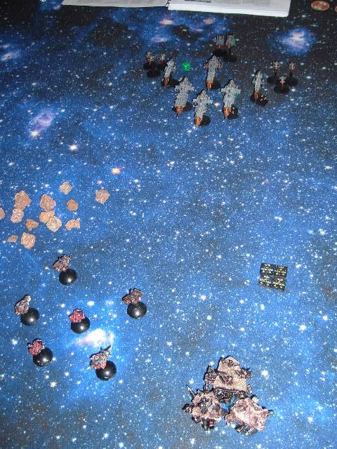 "[Orks vs Navy] Assassination (scénario fluff sur ""shadow point"" de Gordon Rennie Jmlkis"