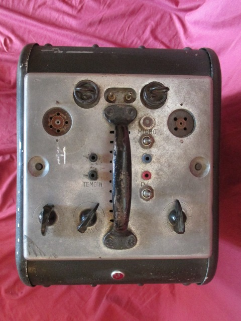 Ancien amplificateur debrie 16 type ms24 avec son haut parleur andre debrie mb15 - Mondial relay puget sur argens ...
